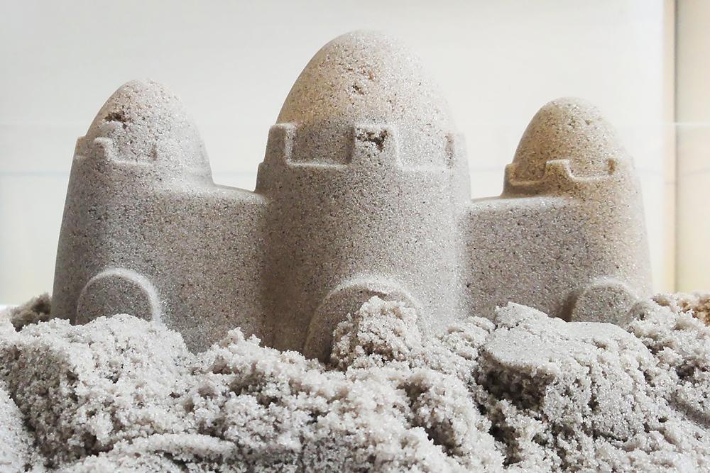 Кинетический песок от скольки лет