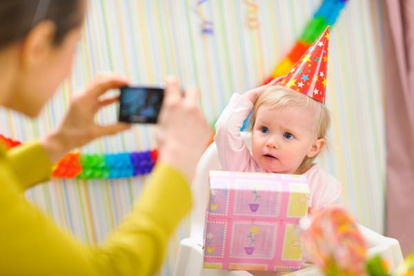 Как провести день рождение ребенка дома 1 год